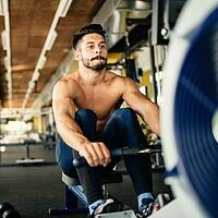 cardio workouts in LA rowing